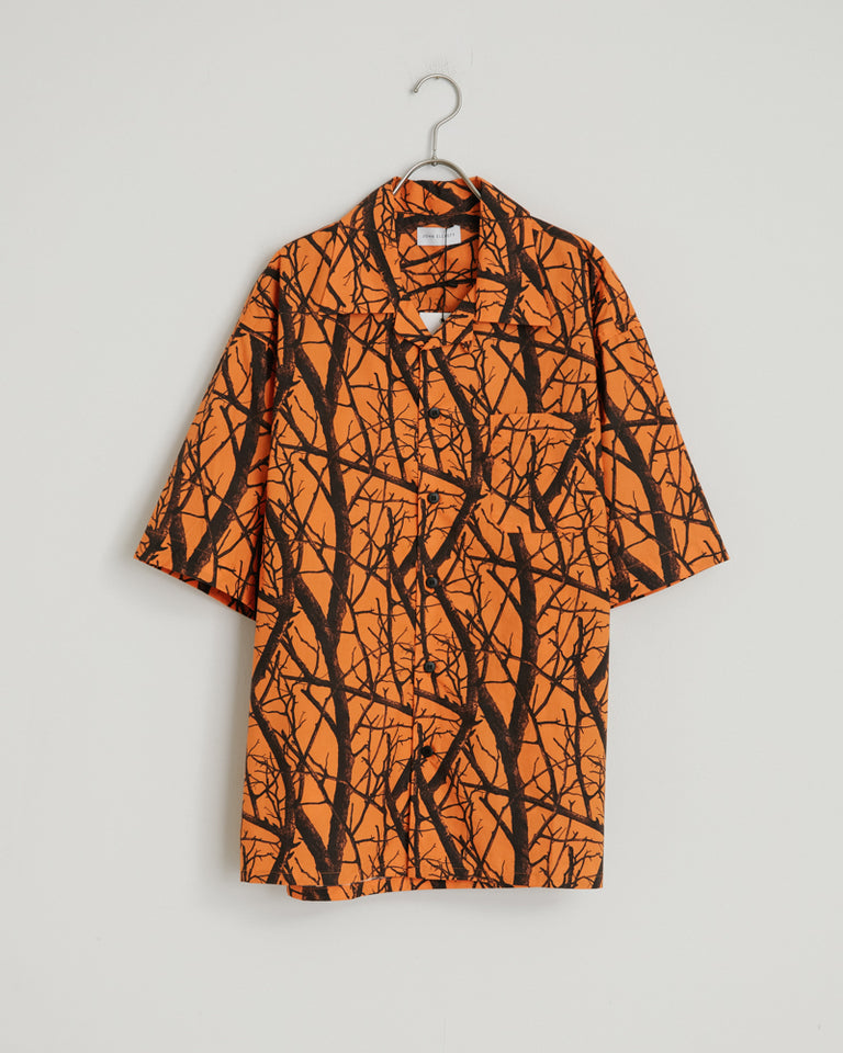Camp Shirt in Duck Club Orange