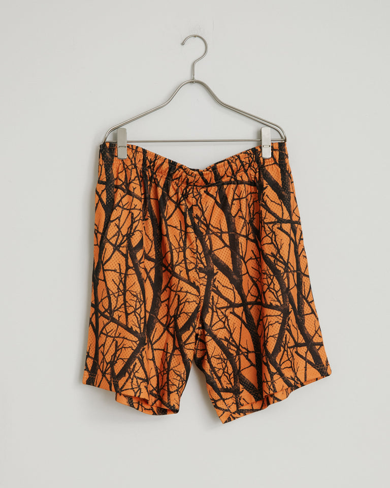 Practice Shorts in Duck Club Orange