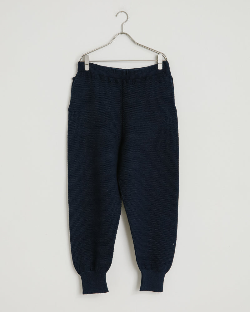 KN002 Knit Pant in Navy