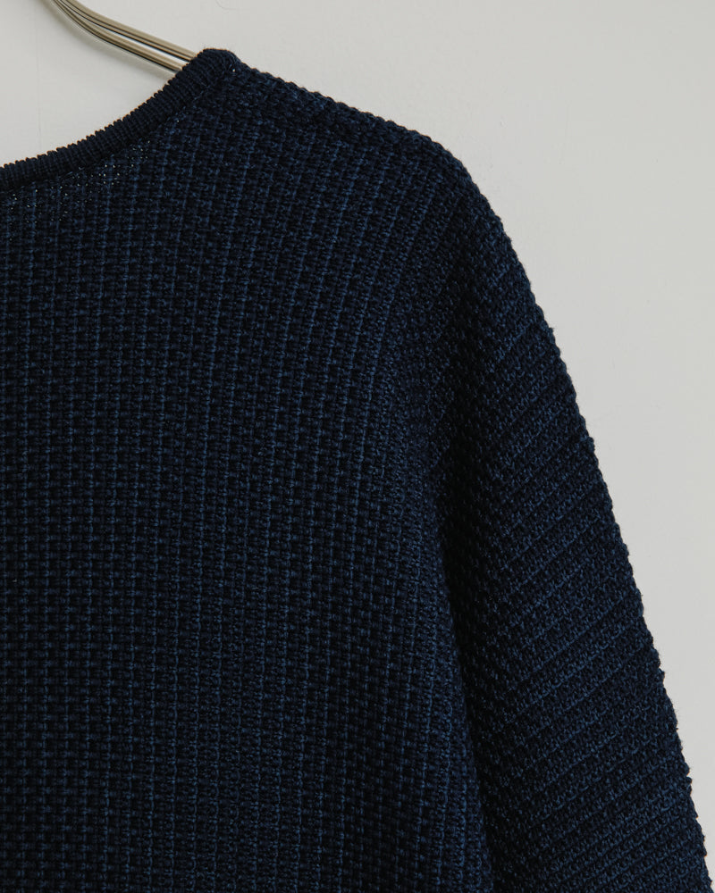 KF003 Knit Top in Navy
