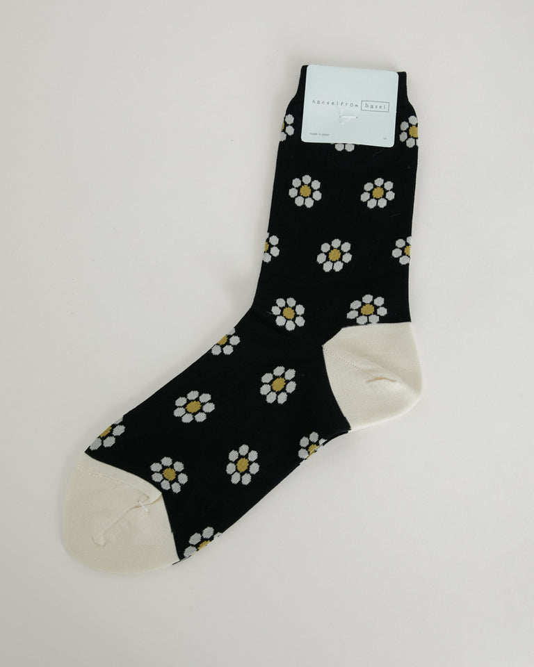 DeeDee Daisy Crew in Black