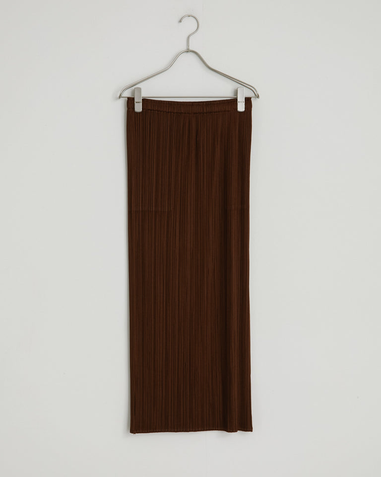 JG165 Skirt in Saddle Brown