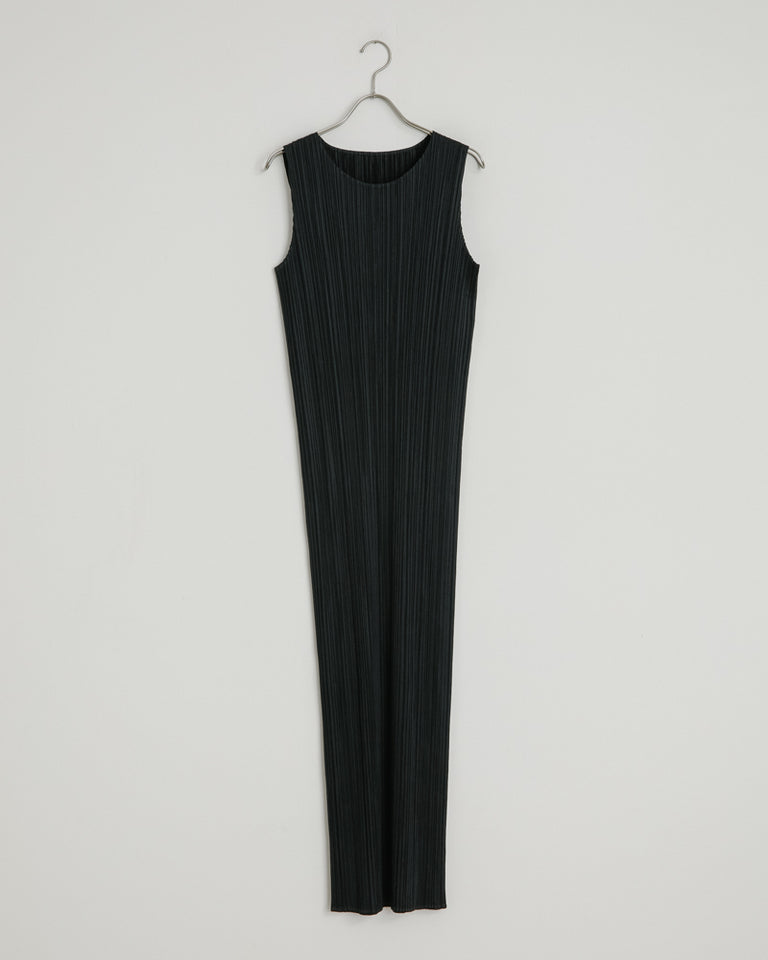 JH114 Long Dress in Black
