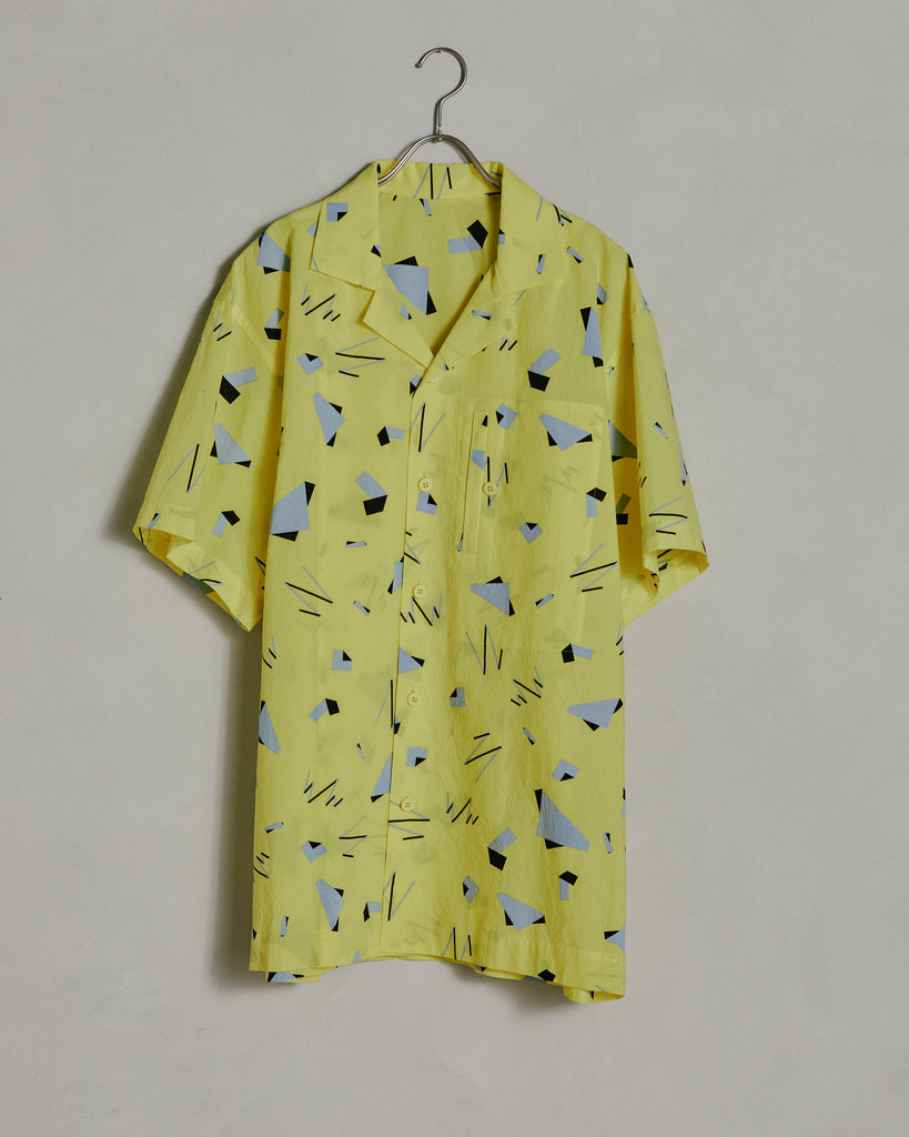 Geometric Shirt in Yellow