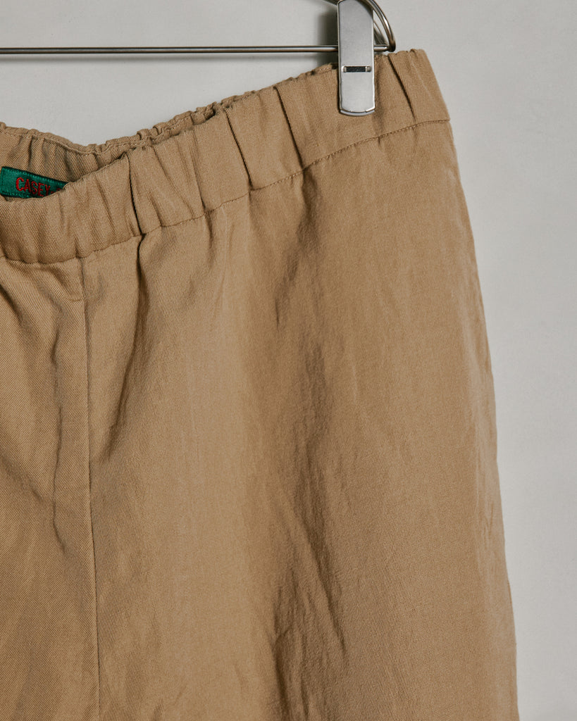 Zwag March Pant Wool/lin in Sand