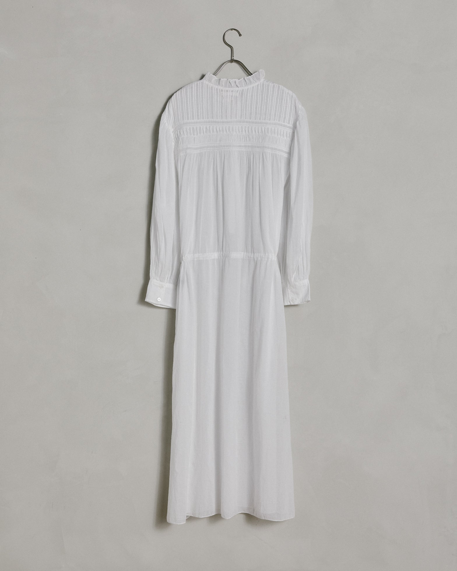 Perkins Dress in White