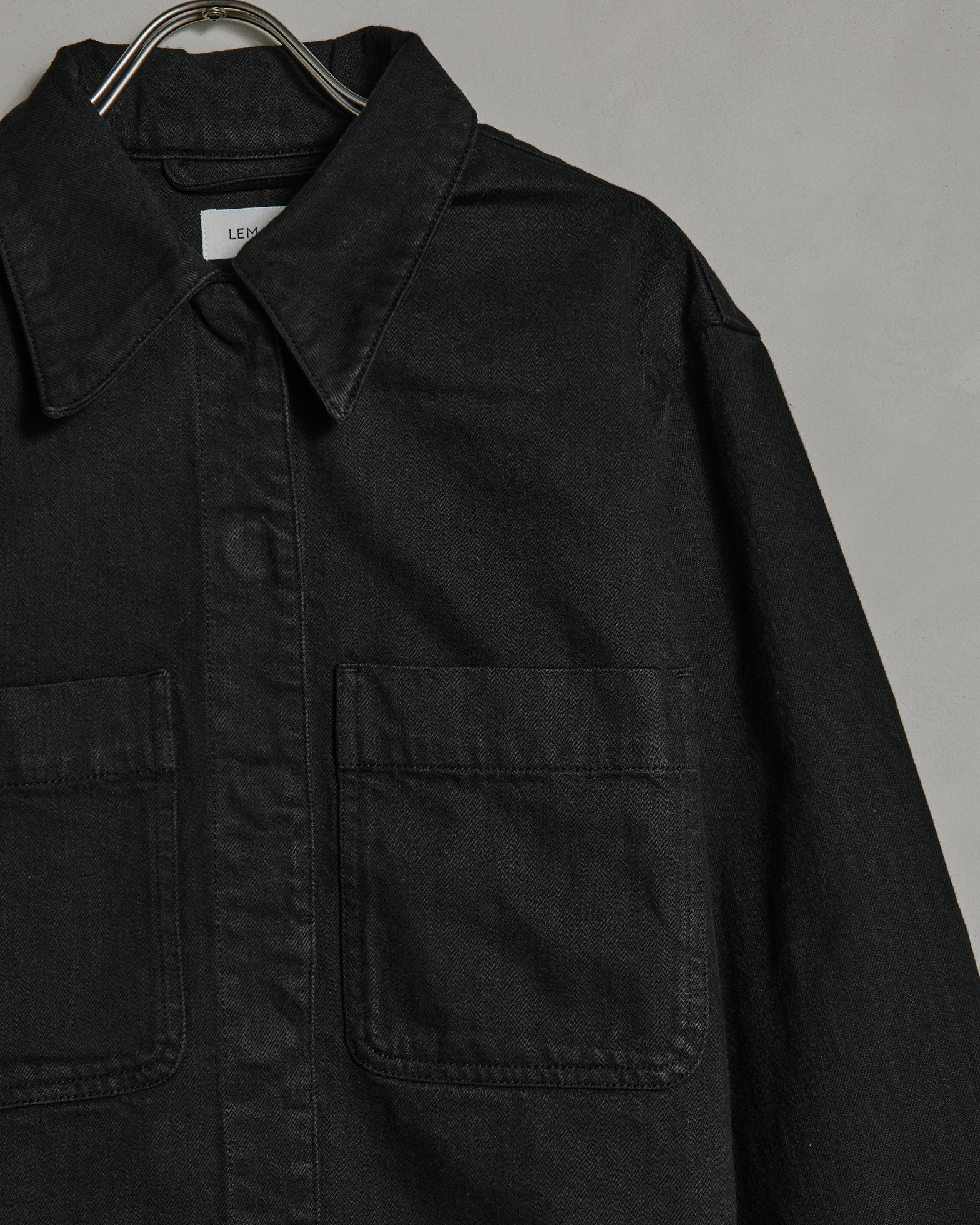 Overshirt in Black
