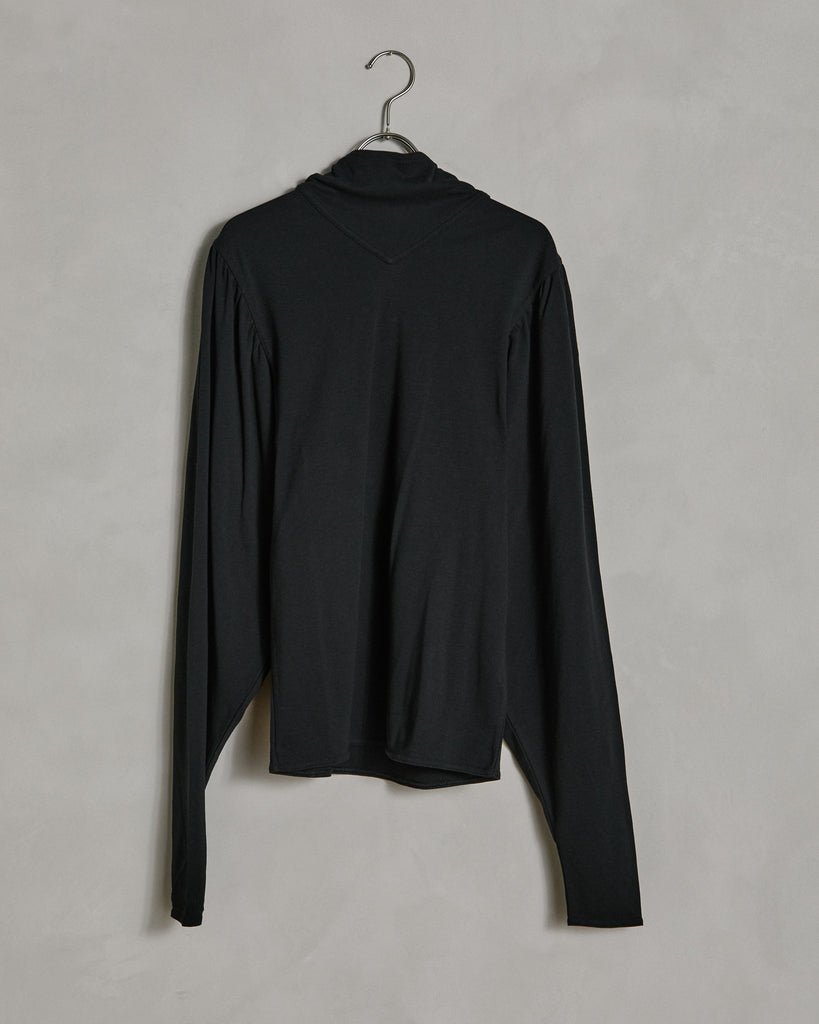 Foulard Blouse in Black
