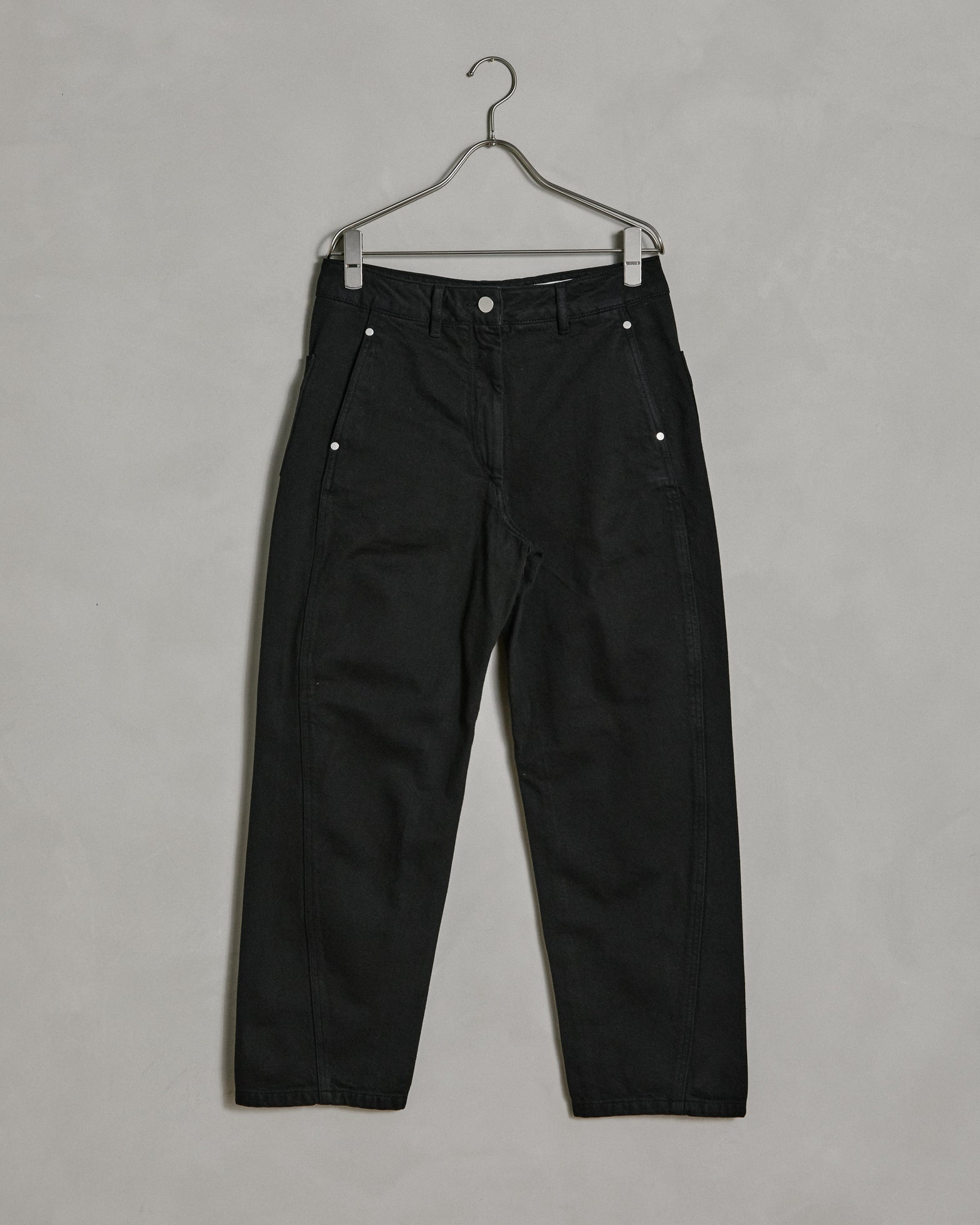 Twisted Pants in Black