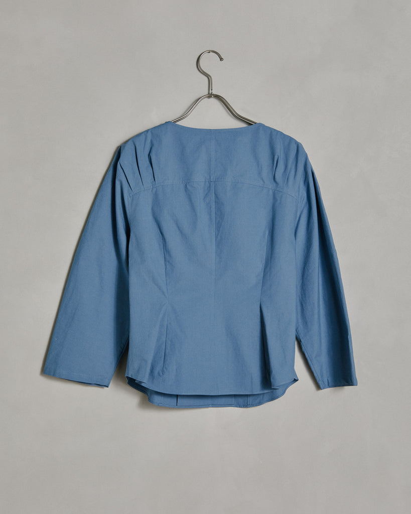 Wing Blouse in Sky