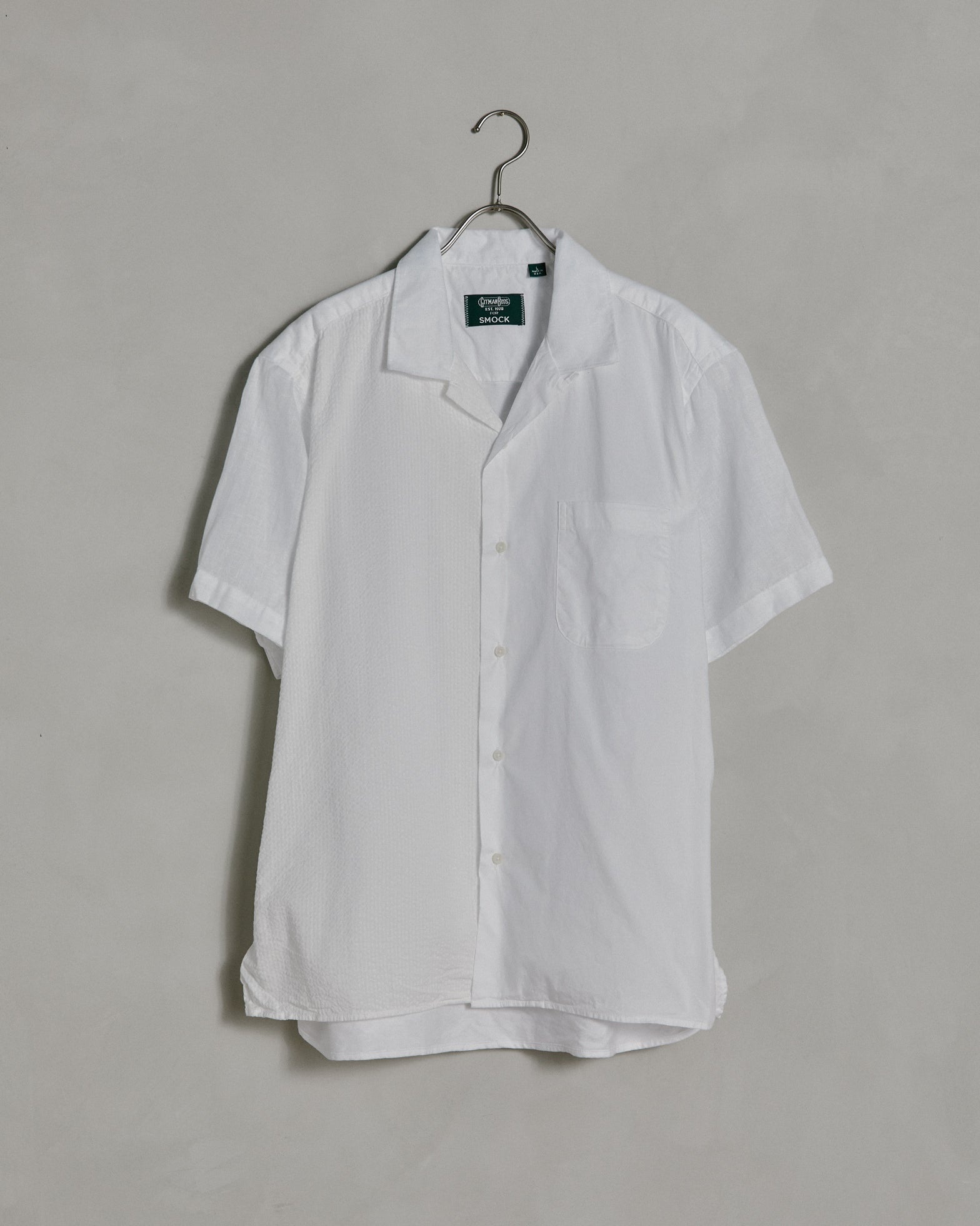 Omakase Camp Shirt in White