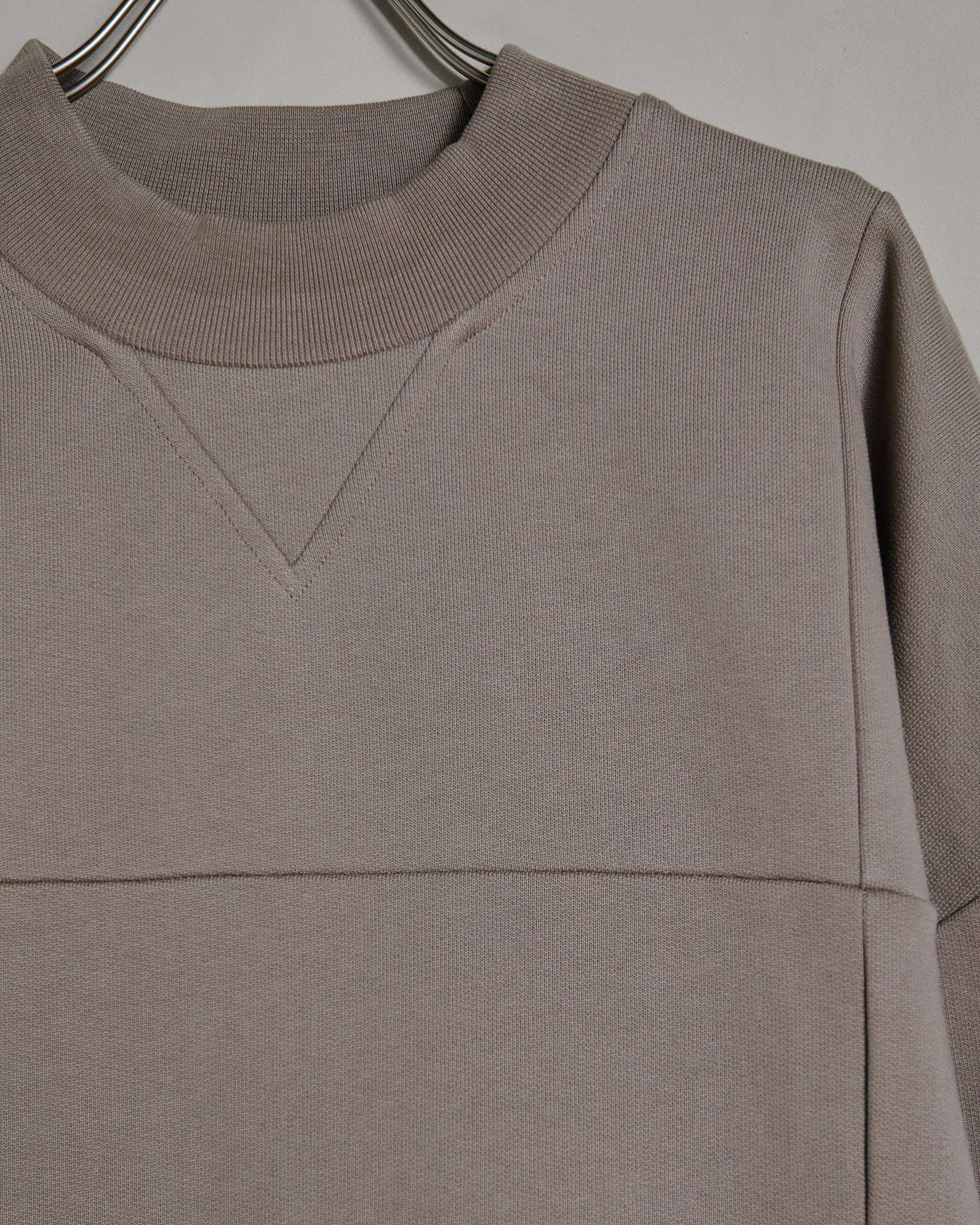 Le Sweat Carro in Light Brown