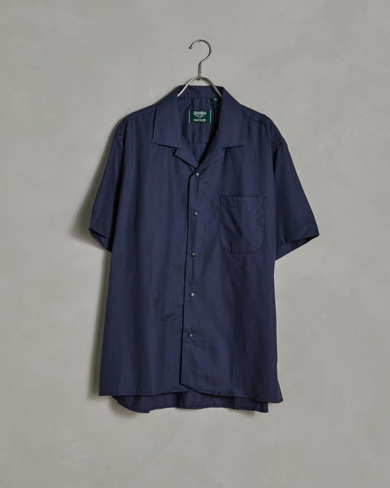 Kashmyl Camp Shirt in Navy