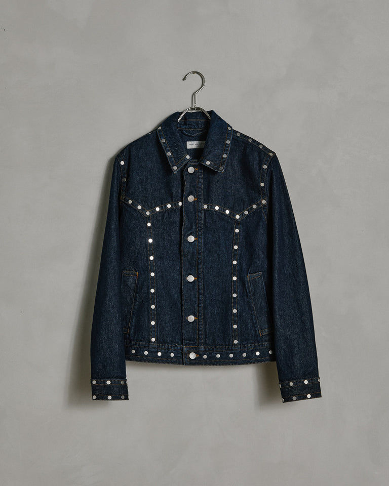 Vegass 1385 W. W. Jacket in Indigo