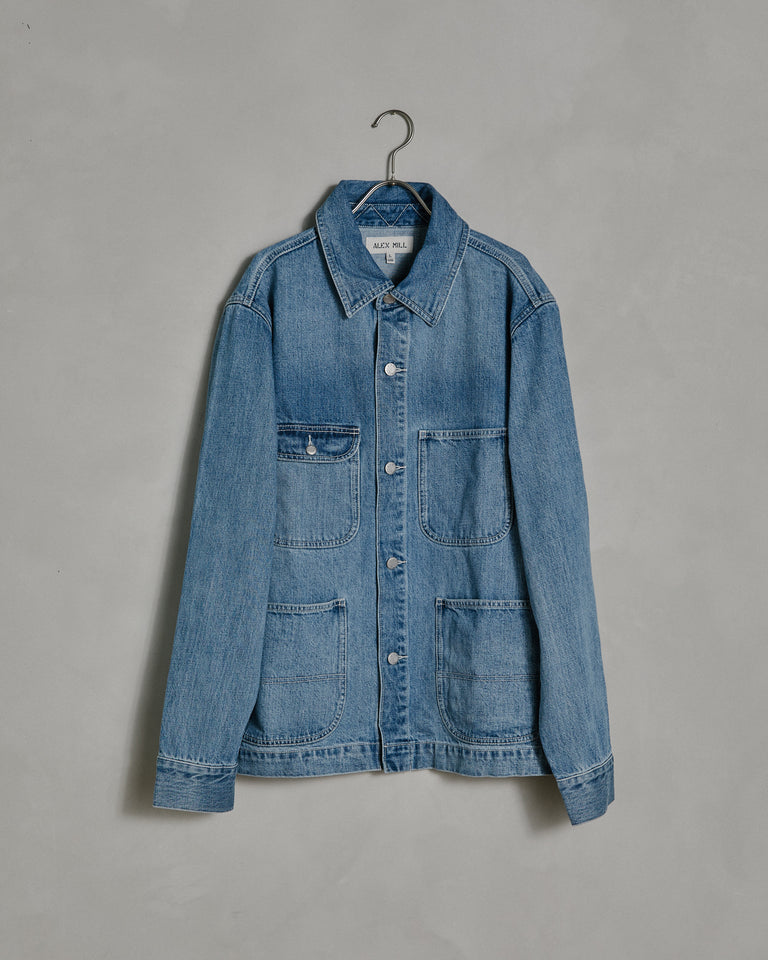 Chore Jacket in Vintage Wash