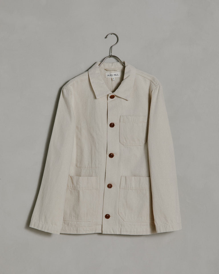 Britt Work Jacket in Natural