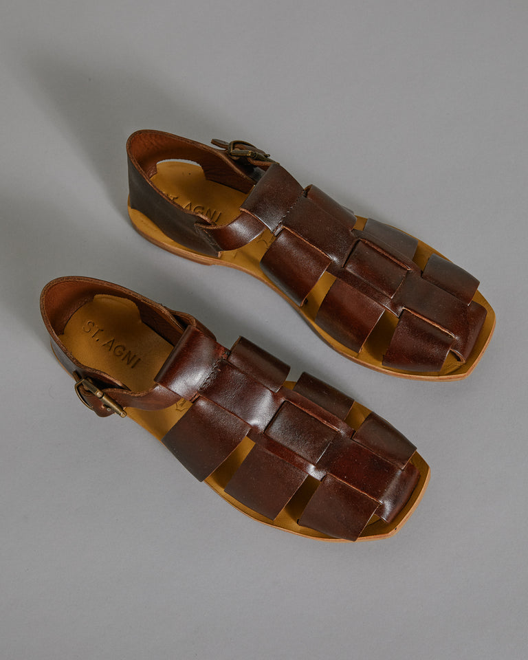 Kami Sandal in Vintage Tan