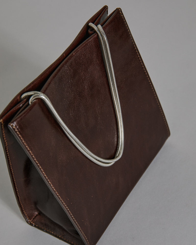 Gate Purse in Mahogany