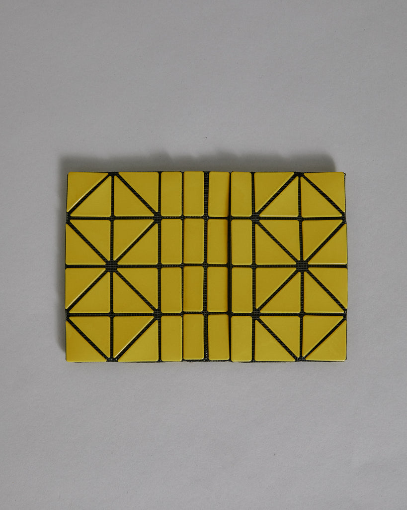 Card Case in Yellow