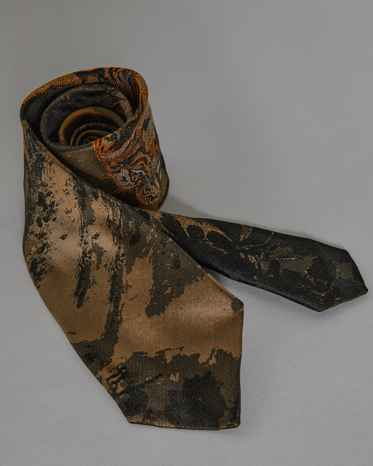 Tie 102 1913 in Brown