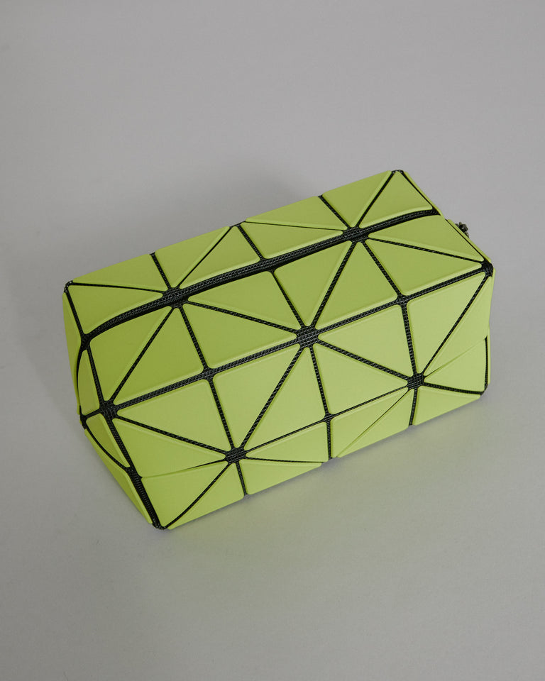 Box Pouch in Lucent Yellow