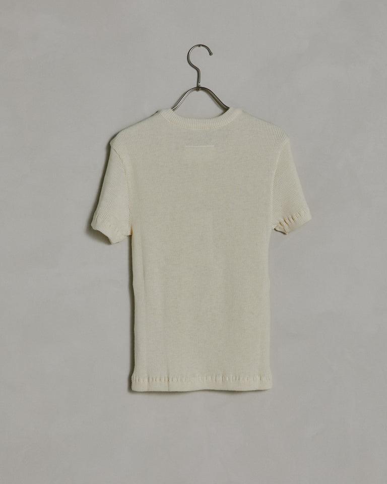S23735 T-Shirt in Natural White