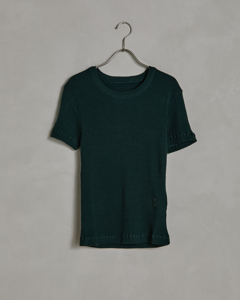 S23735 T-Shirt in Duck Green