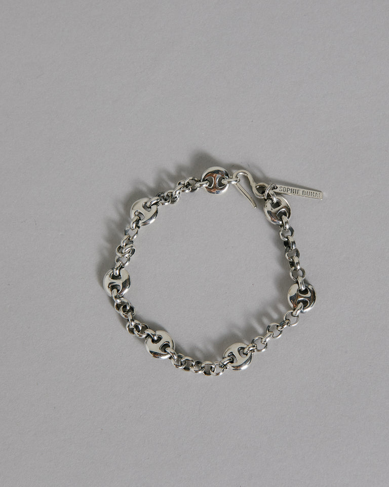 Small Germain Bracelet in Sterling Silver