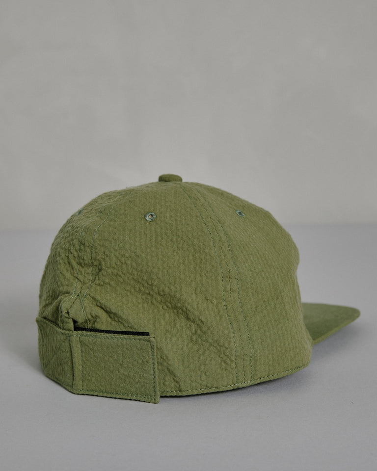 Seersucker Cap in Meadow