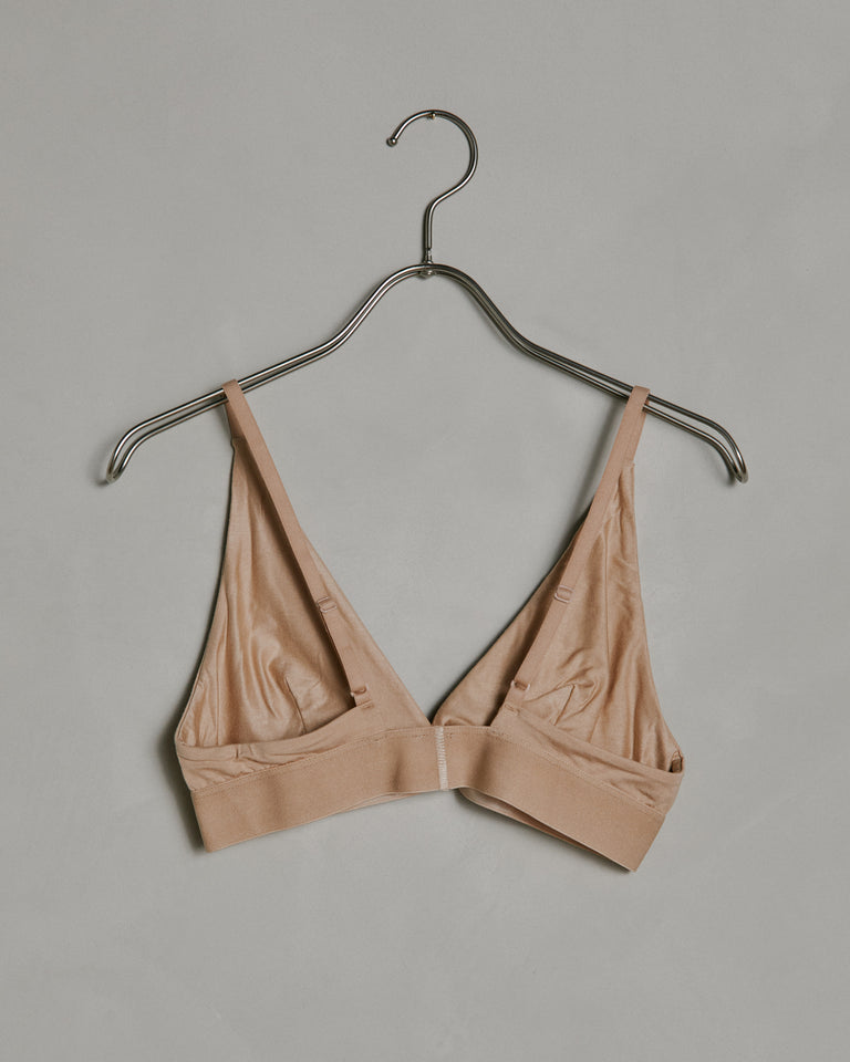 Triangle Bra in Nude