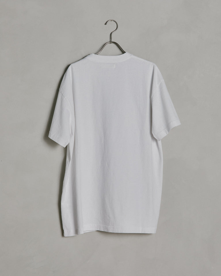 Big Pocket Tee in Optic White