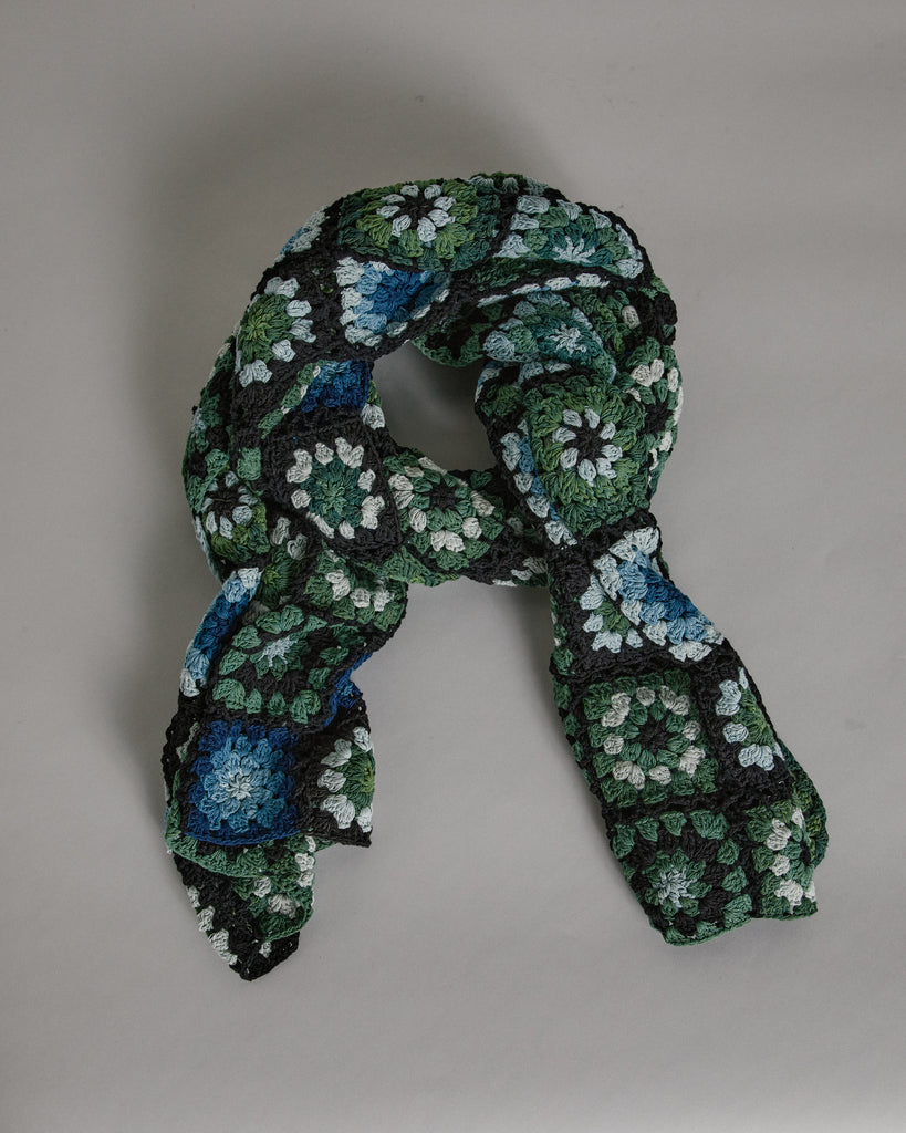 Peace Scarf XL in Moss