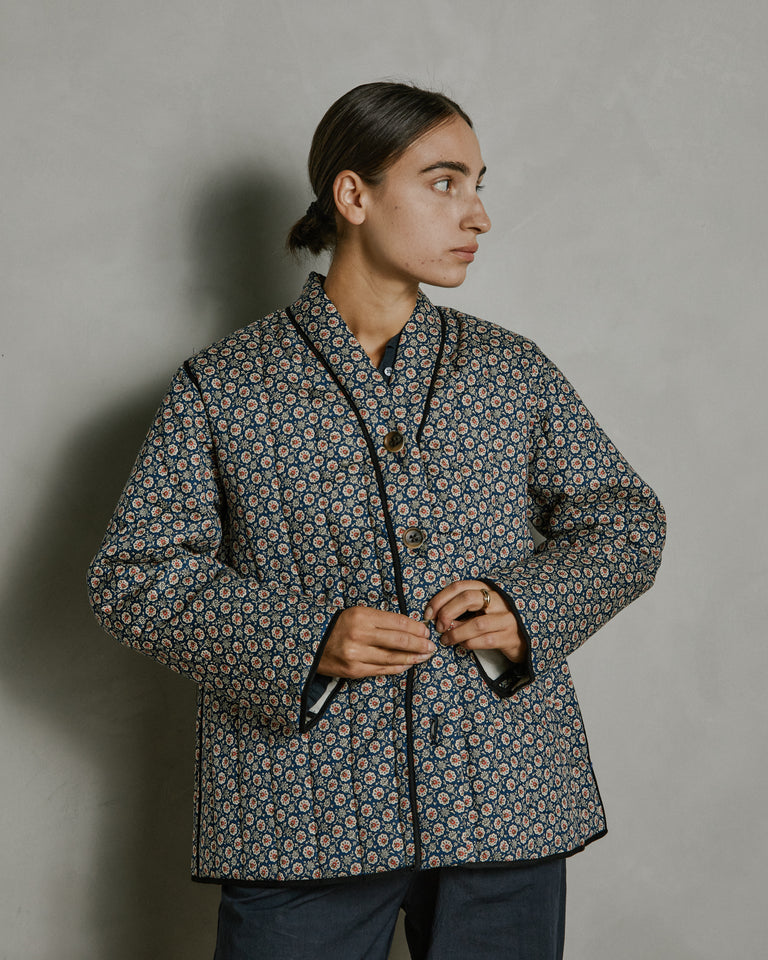 Tao Jacket in Navy Floral