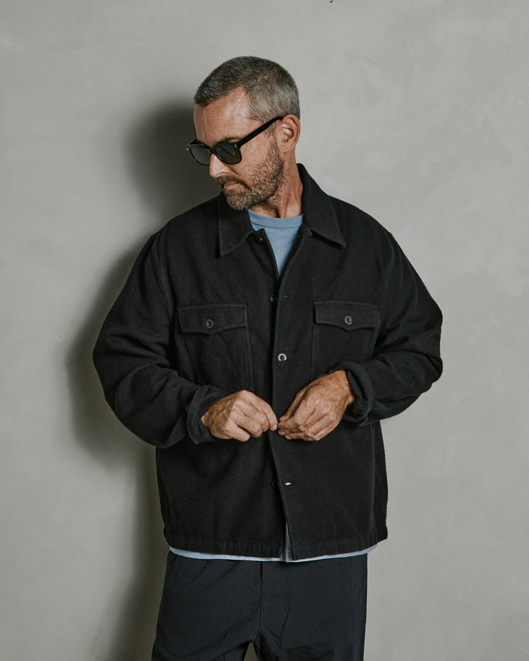 Evening Coach Jacket in Black