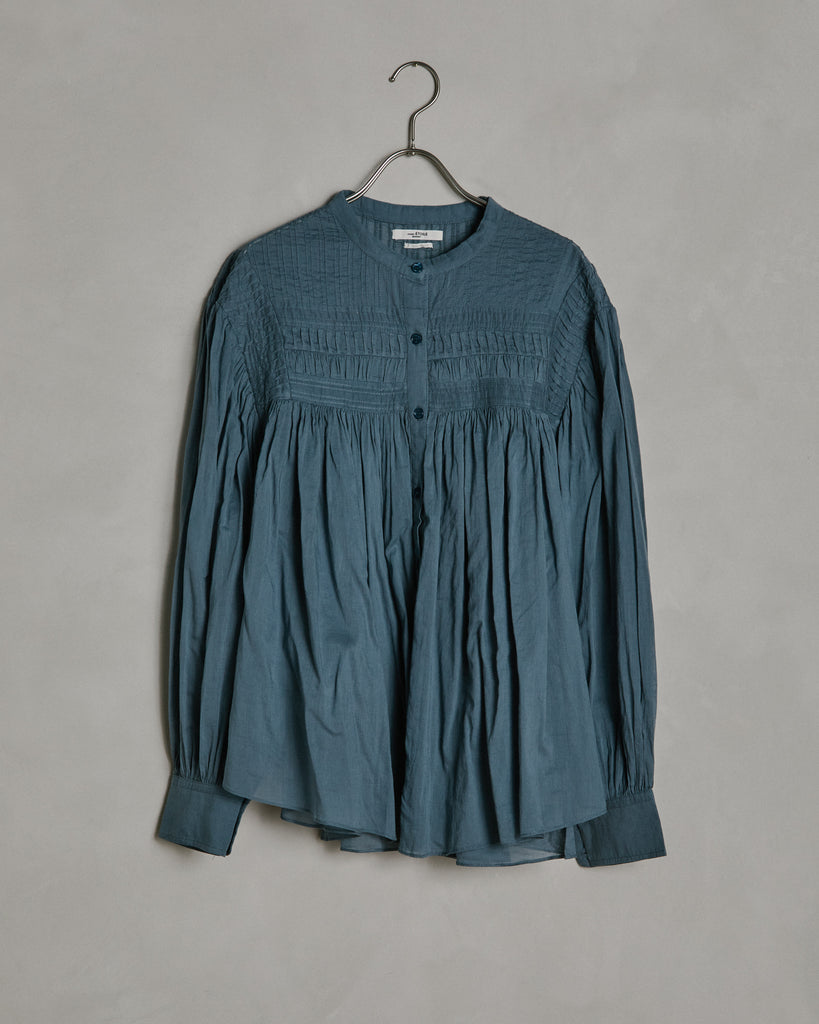 Plalia Top in Greyish Blue