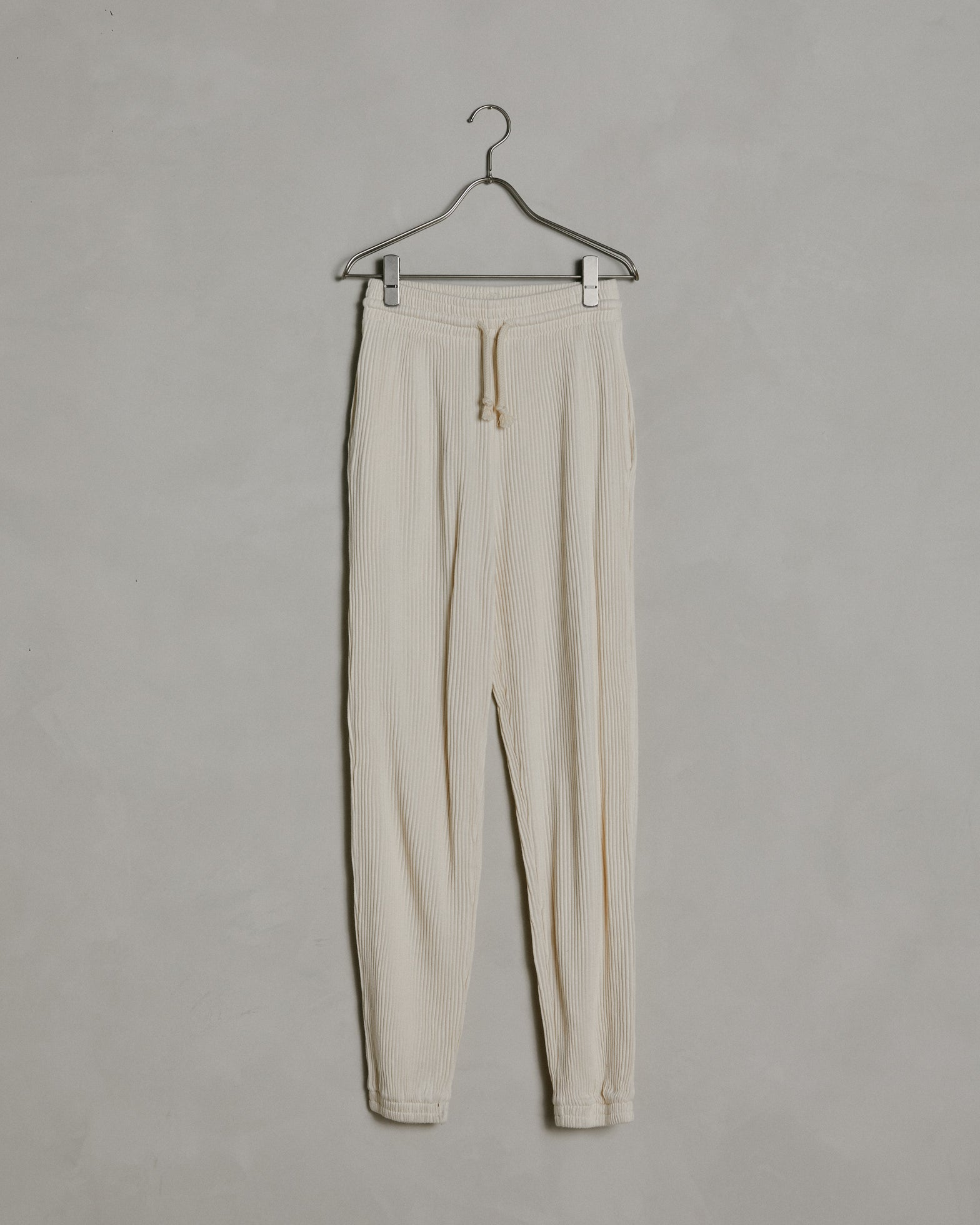 Sweat Pants in Off White