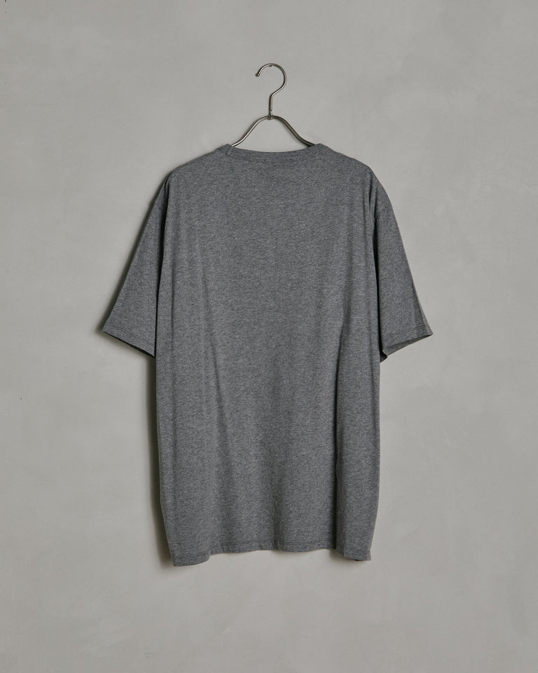 New Box T-Shirt in Light Grey Melange