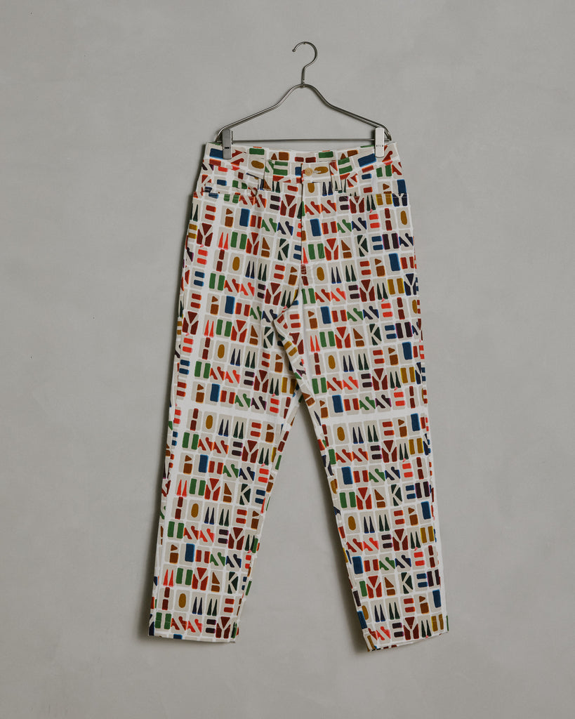 Monogram Pants in Multi