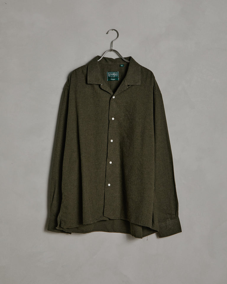 L/S Vintage Camp Shirt in Olive