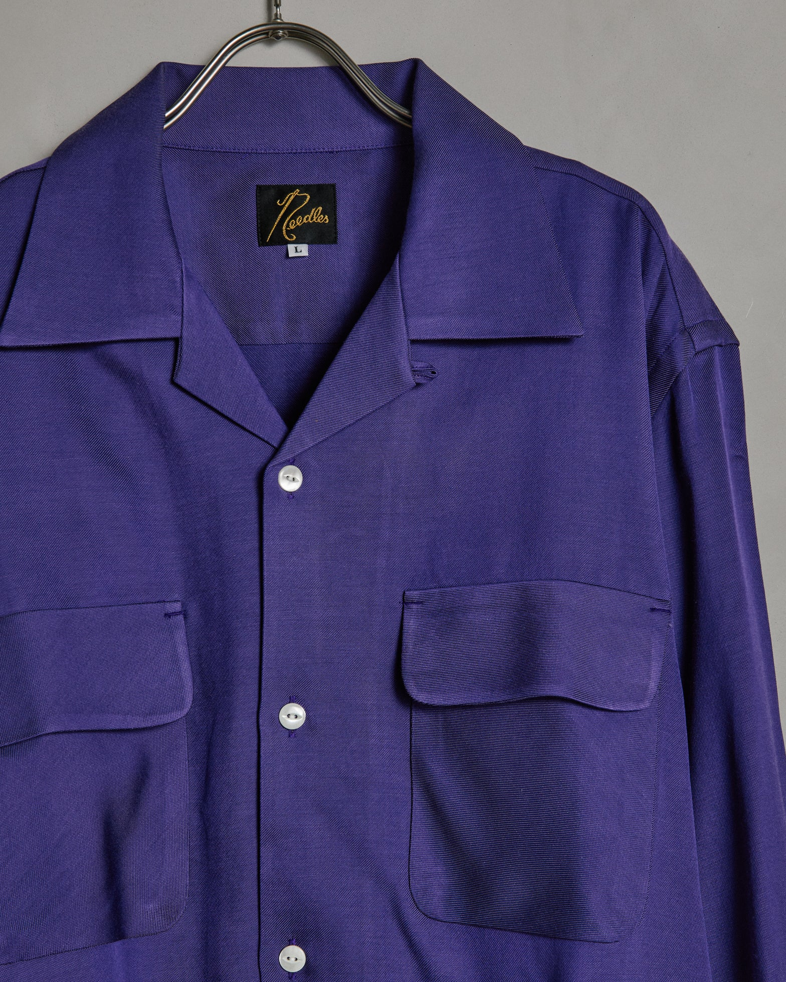 C.O.B. Classis Shirt in Purple