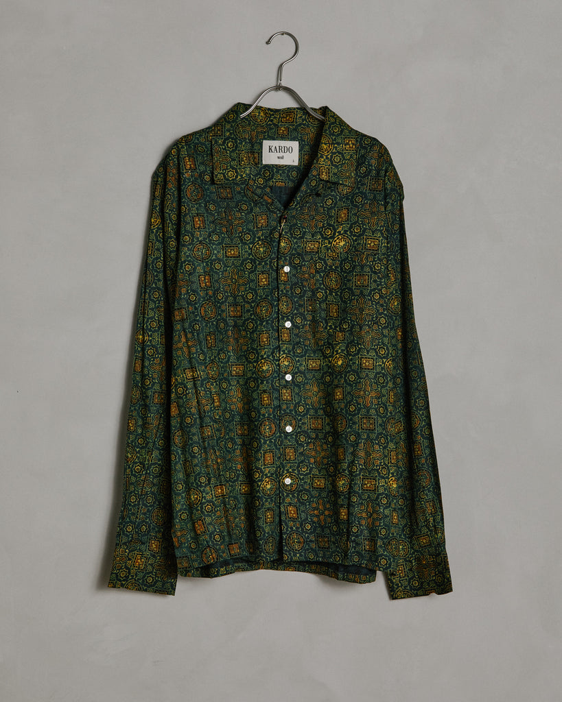 Tommy Shirt in Dark Green
