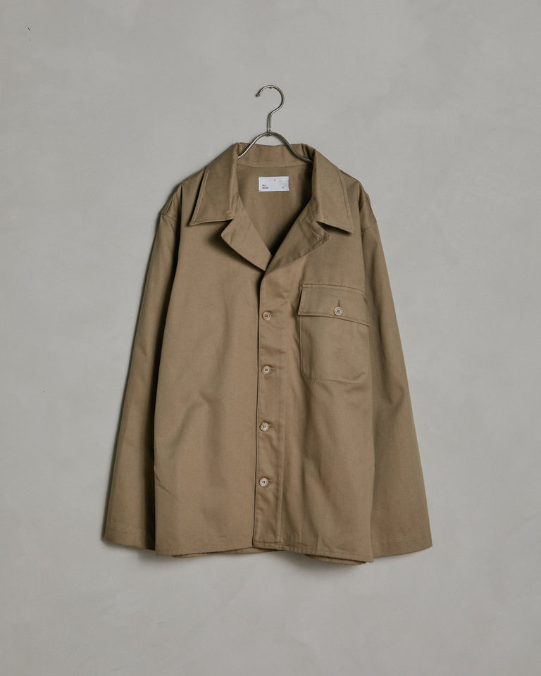 Military Shirt in Beige
