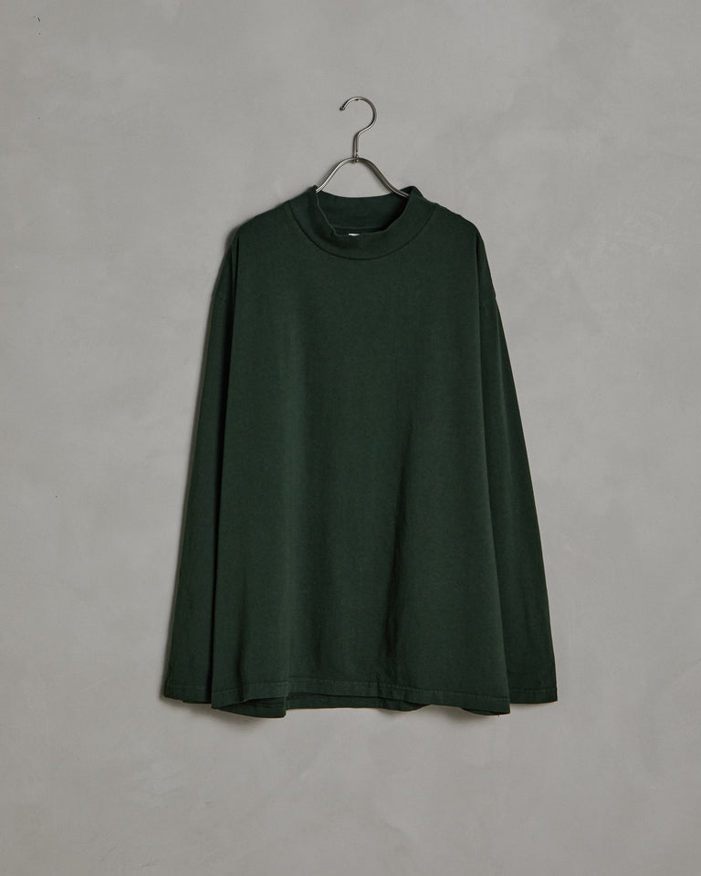 Mockneck LS Tee in Forest