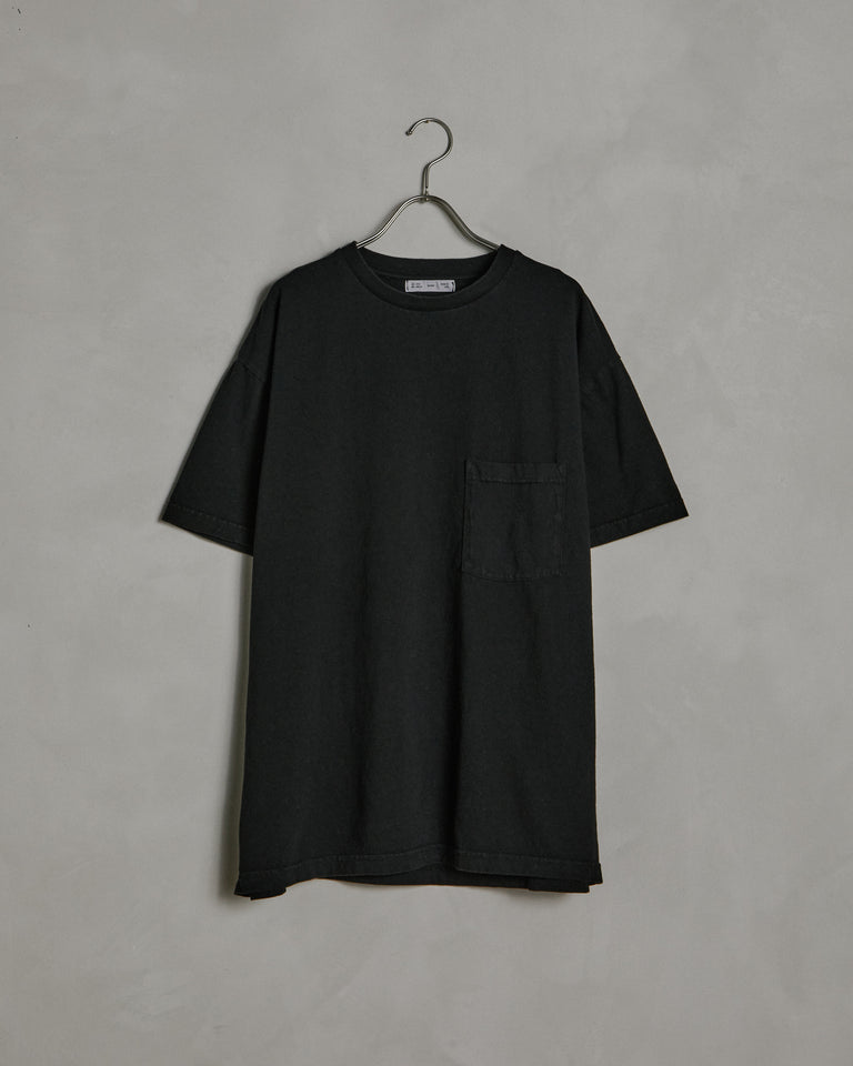 Big Pocket Tee in Black