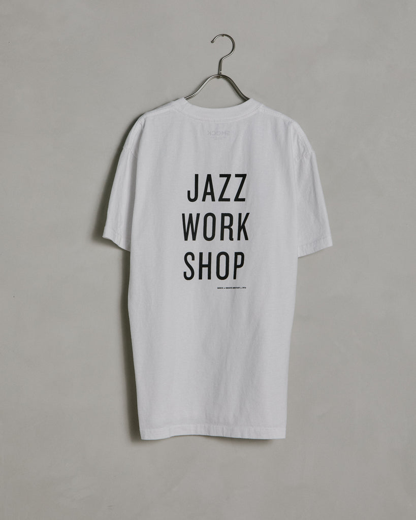 Jazz Workshop Tee in White