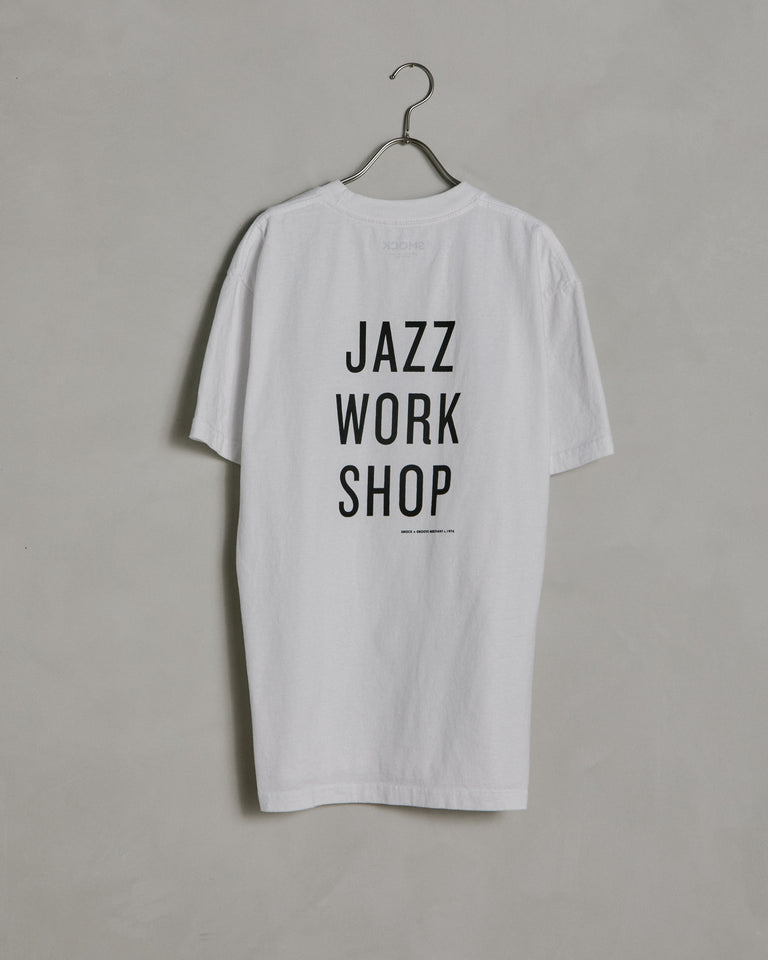 Jazz Workshop SS Tee in Bone