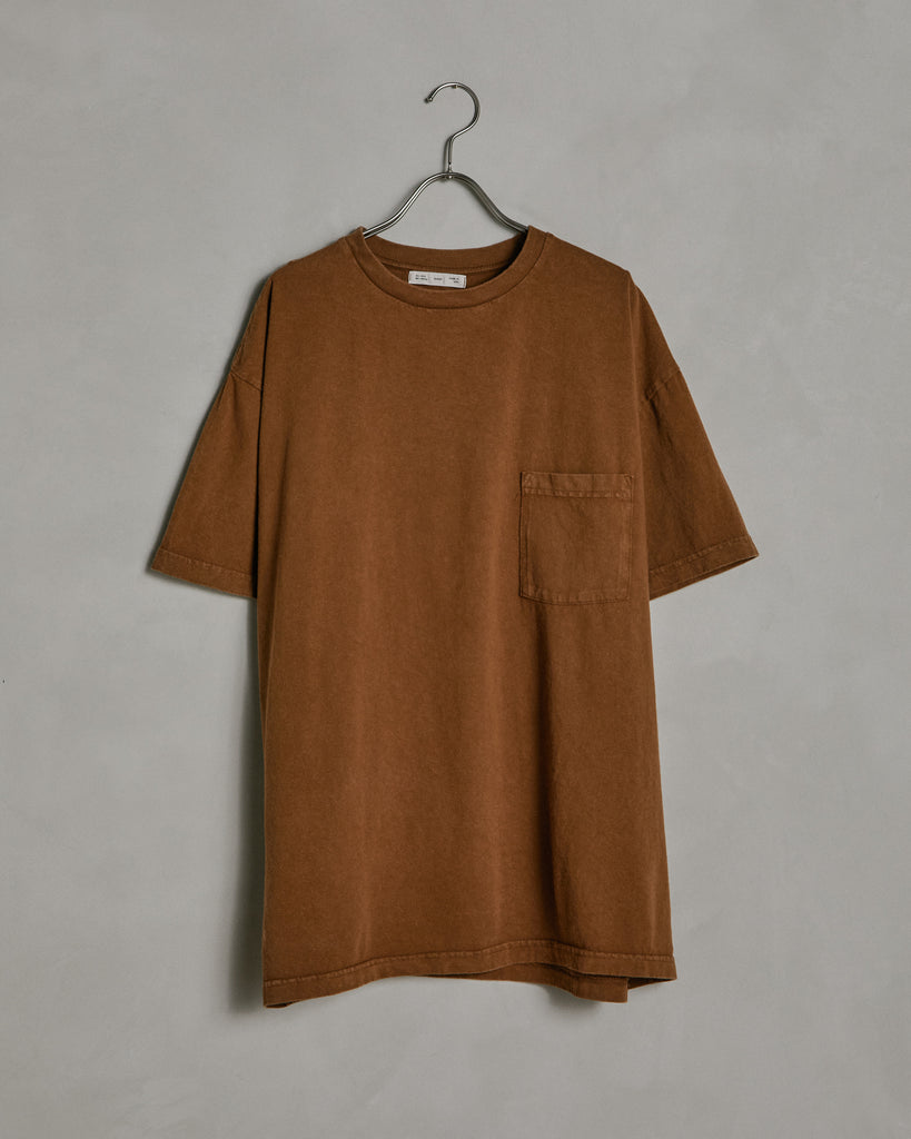 Big Pocket Tee in Sienna