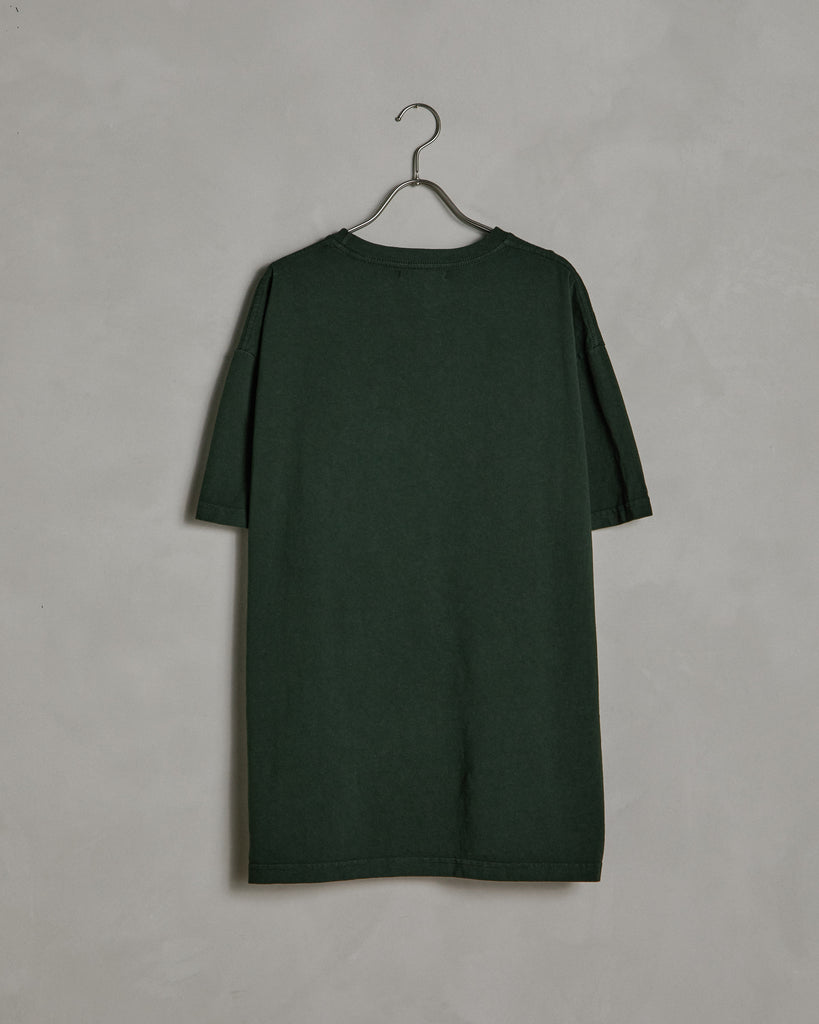 Big Pocket Tee in Forest