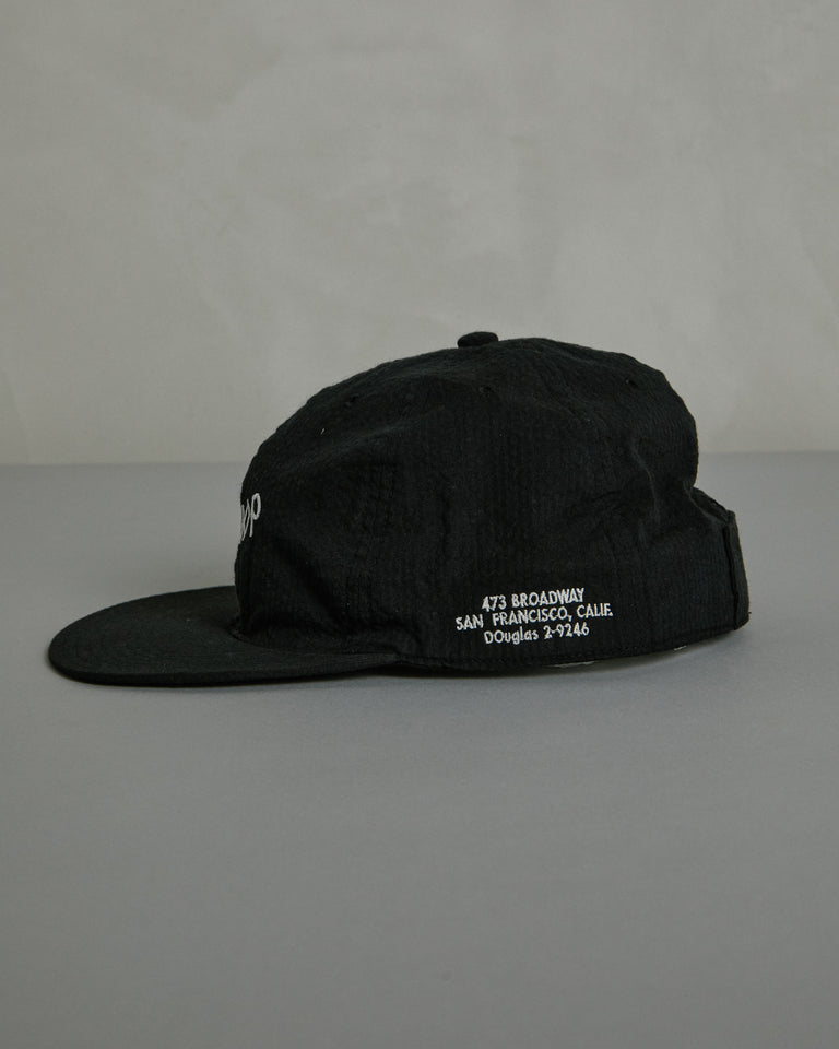 Jazz Workshop Cap in Black