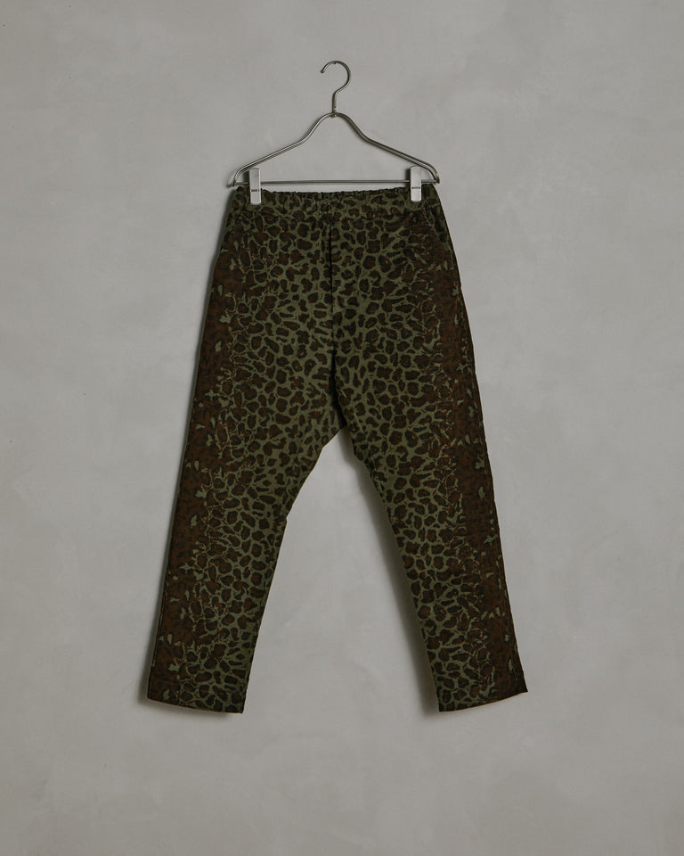 Yoyogi Pant in Cheetah Print